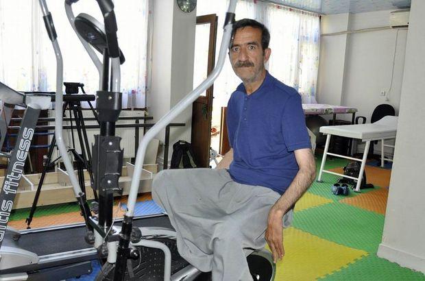 Diyarbakır'da Fuat Akdağ'ın bir esneme hareketiyle hayatı değişti