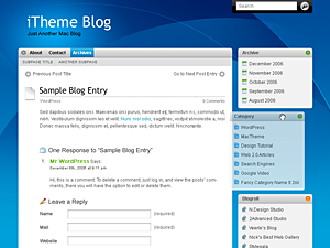 WordPress iTheme Themes