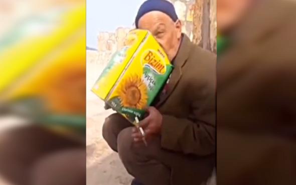 Yaşlı amcanın performansı sosyal medyayı salladı