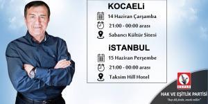 HEPAR Onursal Başkanı Osman Pamukoğlu Kocaeli ve İstanbul'da