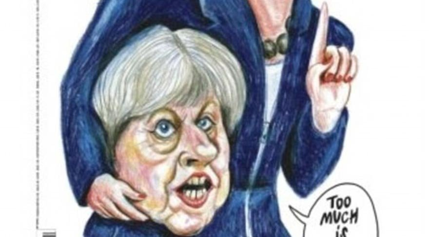 Charlie Hebdo bu seferde İngilizler'i kızdırdı
