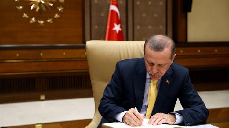 Cumhurbaşkanı Erdoğan Yalova Üniversite'sine rektör atadı