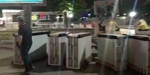 Son Dakika ! Güvenpark'a bariyer yığılıyor