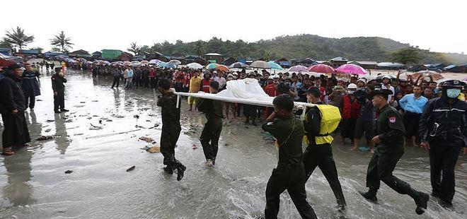 Myanmar'da kaybolan uçaktaki 31 kişinin cesedine ulaşıldı