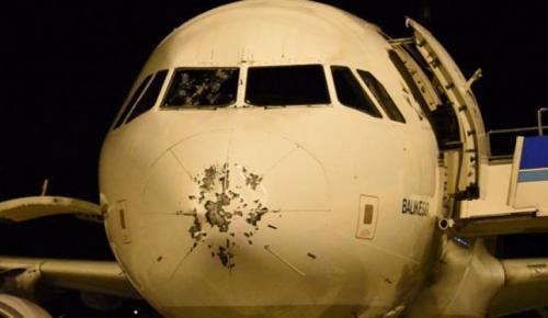 Lefkoşa-İstanbul uçağı Çanakkale'ye indi