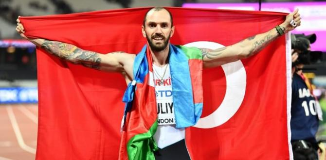 Dünya Atletizm Şampiyonası'nda tarihi başarı