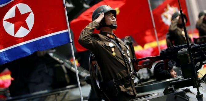 Kuzey Kore ayaklandı! Savaşmak için milyonlar başvurdu