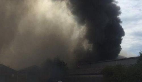 Londra'daki havaalanında şiddetli patlama