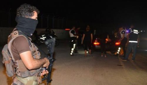 Adana'da 1500 polisle asayiş uygulaması