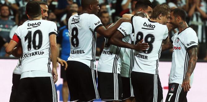 Beşiktaş'ın Devler Liginde maçı var!