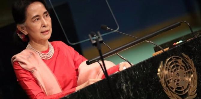 Suu Çii, BM toplantısına katılmaktan vazgeçti!