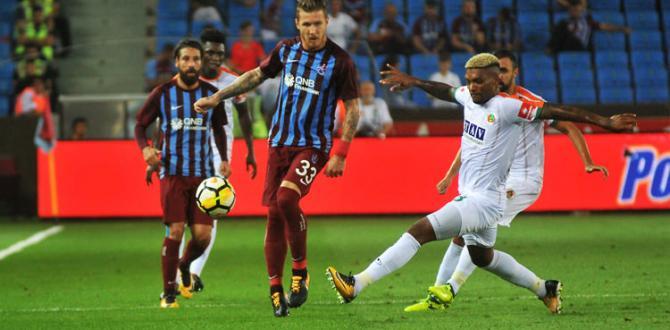 Trabzon'da tarihi maç
