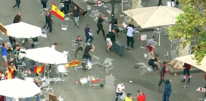 Barcelona çok karışık