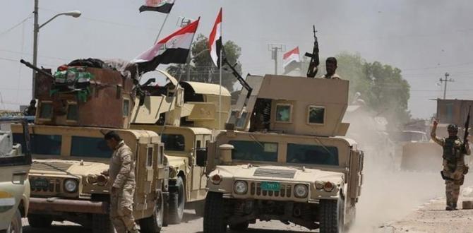 Irak'tan savaş açıklaması
