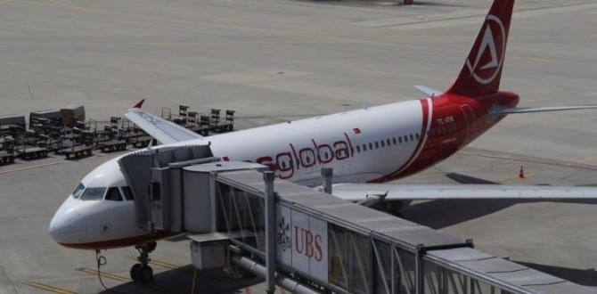 Atlasglobal'in Kophenhag'daki uçakları durduruldu!