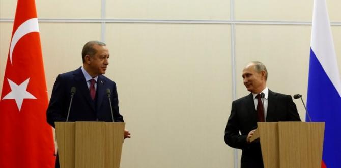 Erdoğan ve Putin ortak basın toplantısı düzenledi