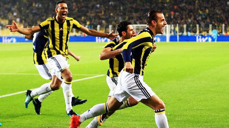 Fenerbahçe'yi Soldado sırtladı! 4-1