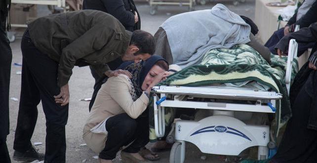 İran-İran sınırındaki 7.3'lük depremde ölü sayısı 400 e yaklaştı