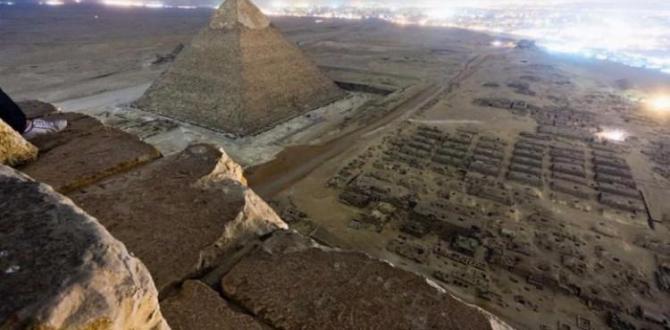 Mısır'daki Büyük Piramit'te heyecanlandıran keşif!