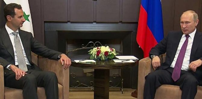 Putin, Esad ile Kremlin'de görüştü