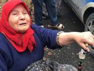 Yürek burkan görüntü: Gözyaşları içinde izledi!