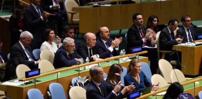 BM Genel Kurulu'nda Kudüs oylaması sonuçlandı!