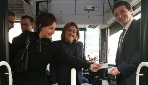 Gaziantep'te Kredi kartıyla yolculuk dönemi