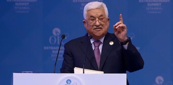 Mahmud Abbas'tan ABD'ye rest!