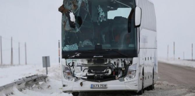 2 yolcu otobüsü devrildi! Çok sayıda yaralı var