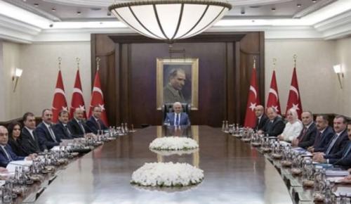 Bakanlar Kurulu'nda gündem Zeytin Dalı harekatı