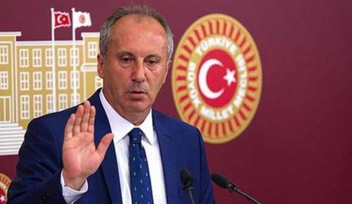 Muharrem İnce, CHP Genel Başkanlığı'na adaylığını açıkladı