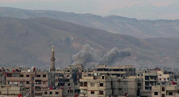 Ateşkes ilan edildi! Esed rejimi Doğu Guta'yı kimyasal silahla vurdu