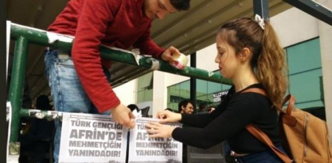Boğaziçi Üniversitesi'nden Mehmetçik'e destek