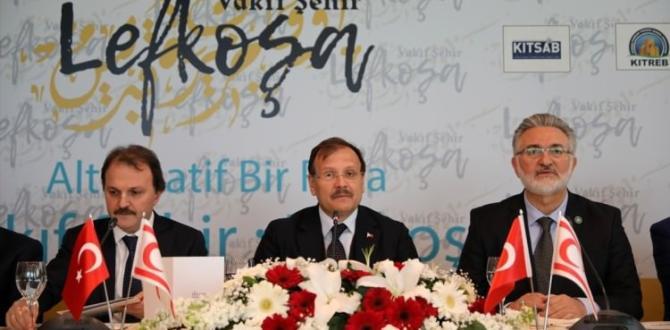 Çavuşoğlu'ndan, turizmde vakıf müjdesi
