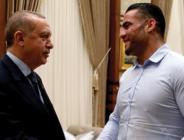 Cumhurbaşkanı Erdoğan Suriye asıllı boksörü ağırladı