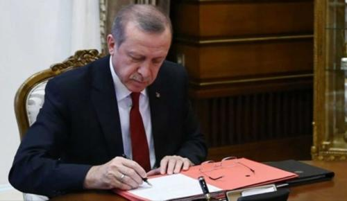 Cumhurbaşkanı Erdoğan'dan taziye mektubu