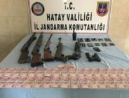 Hatay'da uyuşturucu ve kaçakçılık operasyonu