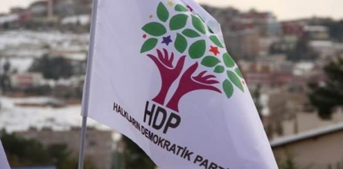 HDP il başkanlığına baskın!