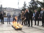 Nevruz ateşi kültür başkenti Kastamonu'dan yandı!