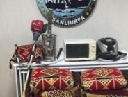 Şanlıurfa'da hırsızlık operasyonu: 8 gözaltı