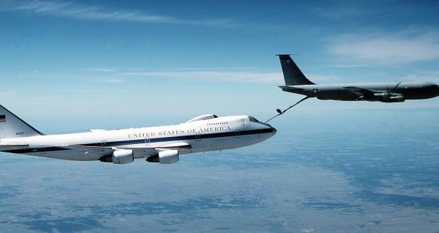 ABD 'kıyamet günü' uçağını havalandırdı!