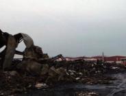Sakarya'daki yangın sonrası fabrika