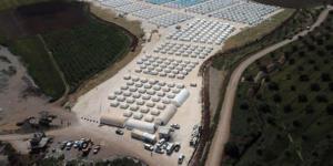 Türkiye Afrin'de çadır kent kurdu! TSK paylaştı…