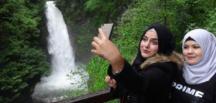 Arap turistlerin yeni cenneti Palovit Şelalesi