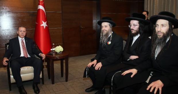 Erdoğan Musevi cemaat temsilcilerini kabul etti