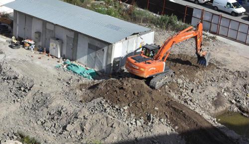 İzmir'de inşaat temelinden tarih çıktı