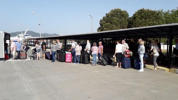 Marmaris'te kapıda vize uygulamasına yoğun talep