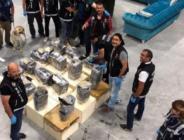 Baza imalathanesinde 235 kilo 'eroin' ele geçirildi