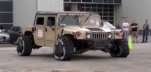 DARPA'dan palete dönüşebilen tekerlek sistemi