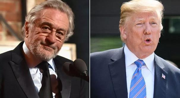 Trump'ta De Niro'ya sert tepki